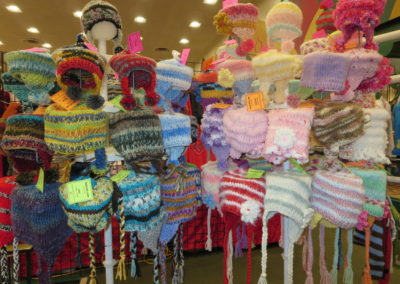BABY HAT DISPLAY