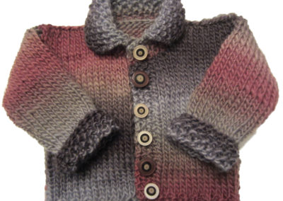 BABY SWEATER BROWN TAOS