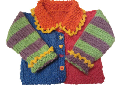 BABY SWEATER MULTI