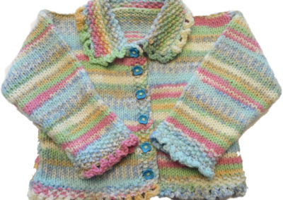 BABY SWEATER PASTEL MULTI 2