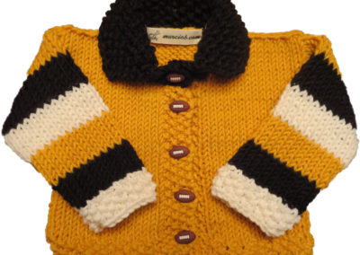 BABY SWEATER STEELERS