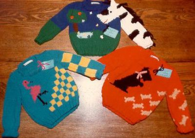 BABY SWEATERS 1983