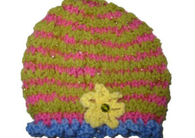 KNIT HAT MARTHA W GREEN
