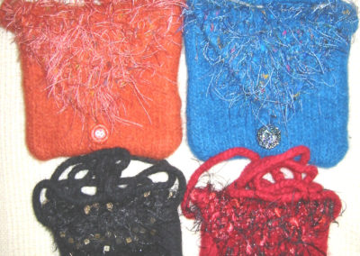 PURSES FELTED
